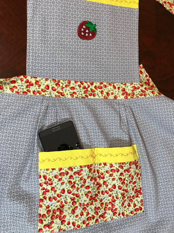 Pocket for a cell phone